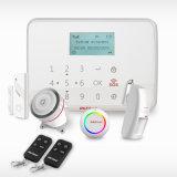 Sistema di allarme manuale senza fili di GSM di obbligazione domestica di GSM con l'allarme rapido sul comitato per medico, fuoco, furto con scasso