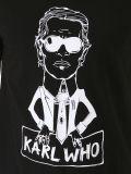 T-shirt rond d'hommes de cou de Cutton de mode en gros chaude d'impression d'écran