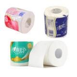 Máquina de embalagem sanitária do rolo do tecido de toalete dos mercadorias