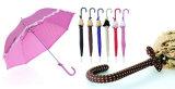 Tuch eingewickelter Handgriff-gerader automatischer Haube-Rock-Regenschirm (YS-SA2308D3180R)