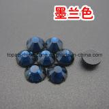 Rhinestone de cristal del arreglo caliente de Ss16 DMC para los accesorios de la boda (grado de SS16 Capri Blue/3A)