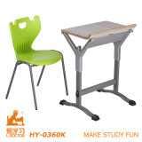 Design novo Cheap Assemble Study Table e Chair (alumínio de Adjustable)