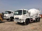三菱ディーゼルエンジン6*4-LHD 10~20tonは新し白塗り直す使用されたFusoを具体的なミキサーのトラック日本作る