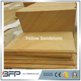 Lastre gialle dell'arenaria per le mattonelle del rivestimento della parete delle mattonelle di pavimentazione