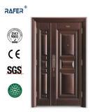 Porta de aço da alta qualidade da cor do tanoeiro do filho da mãe (RA-S119)