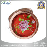 Metal Fashion Compact Mirror, Cosmetic Compact Mirror