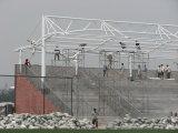 디자인 막 강철 구조물 체육관 경기장 닫집 루핑
