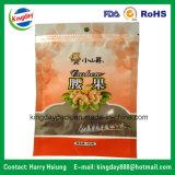 Le sac de empaquetage zip-lock comique pour l'arachide, noix, melon injecte la nourriture sèche
