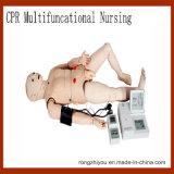 Qualität Multifunktions-CPR-medizinisches Training, das Männchen-Lebenswichtige Zeichen-Simulation wartet