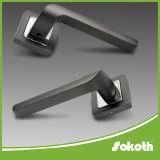Sokothの黒いニッケルシリーズ高品質のドアハンドル