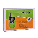 Transmisor-receptor barato Talky Pocket de la radio de jamón de Walky Lt-A7 Frs PMR