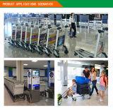 Trole da compra da loja isenta de direitos aduaneiros no aeroporto