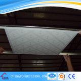 # 572. Un film de PVC de pente a gravé le plafond stratifié de gypse de /PVC de tuile de plafond de gypse