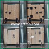 Matériel de nylon de noir de compartiment de toilette de la qualité HPL