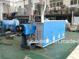 Grande capacité moins d'extrudeuse jumelle conique de plastique de vis de PVC UPVC d'énergie