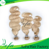Extensão brasileira do cabelo humano do cabelo do Virgin de Remy do estilo da forma
