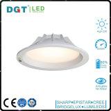 Gimnasia alto 12W brillante 17W luz de techo ahuecada LED de 4 pulgadas SMD Downlight