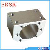 Suporte profissional garantido qualidade do suporte da carcaça da porca do fuso atuador para máquinas do CNC