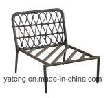 Sofà esterno del giardino della nuova di disegno mobilia di alluminio poco costosa del Pe-Rattan impostato come Cornor impostato (YT892)