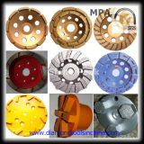 Polishing ConcreteおよびEpoxy Resin FloorのためのPCD Diamond Cup Wheel