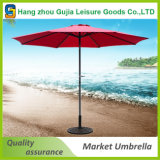 Plage d'usager de patio du marché réglable et parapluie portatif