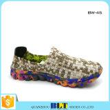 Schoenen van de Dames van goedkope Vrouwen de Kleurrijke Geweven