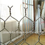 Ячеистая сеть шестиугольных/диаманта (zsteel-008)