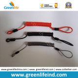 La cuerda de la retención modificó el acollador fuerte de la bobina para requisitos particulares del alambre del color/de la talla W/Loop&Crimp
