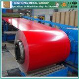 Bobine en aluminium enduite par couleur chaude de la vente 5754