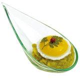 Articles en plastique en plastique de dîner de soucoupe en assiette remplaçable de vaisselle