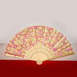 De Japanse Giften van de Bevordering van de Ventilator van het Bamboe van het Document