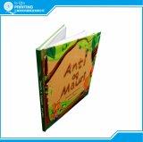Impressão do livro da história da criança do miúdo da cor cheia