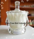 De gebemerkte Kaars van het Glas van de Kruik met Kaars Van uitstekende kwaliteit van het Glas van de Kruik van /Most de Populaire
