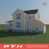 가봉은 좋은 디자인 4s 서비스를 가진 별장 호텔 프로젝트를 조립식으로 만들었다