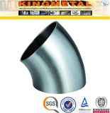 Asme B16.9 304 45 grados precio de 4 de la pulgada del codo instalaciones de tuberías