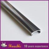 Ajuste de aluminio de la baldosa cerámica del perfil de la protuberancia de la dimensión de una variable de U