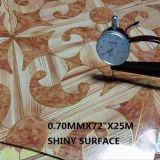 Rullo di superficie brillante/disegno del pavimento del vinile la vostra propria pavimentazione del vinile del PVC