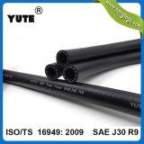 Yute FKM EcoのTs16949の黒い燃料ホースSAE J30