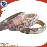 Signora PRO- in lega di zinco Bracelet dello smalto di alta qualità/braccialetto di modo Bracelet/Metal