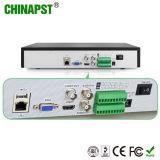 H. 264 gravador de vídeo da rede da canaleta da alta resolução 4 (PST-NVR204)