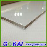El alto panel de acrílico de la hoja de la superficie PMMA del lustre