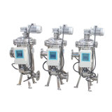 150 Mikron-Edelstahl-automatischer Absaugung-Pinsel-Filter