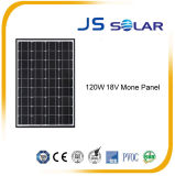 panneau solaire monocristallin approuvé de 120W TUV/Ce/IEC/Mcs