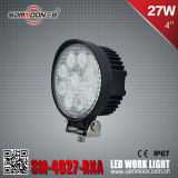 4 pollici 27W (9PCS*3W) Round LED Car Work Driving Light con CE RoHS ECE (SM-4027-RXA)