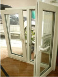 신식 PVC/UPVC Casement와 Tilt Glass Window