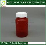 bouteille en plastique de médecine de couleur rouge de l'animal familier 250ml
