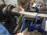 Linha da extrusão do perfil do canal por cabo do PVC
