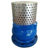 Válvula de aspiração Ductile Epoxy do ferro do RUÍDO Pn16 do revestimento com Ce