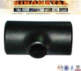 DIN 2605 St45.8 10 pulgadas recta tubos al carbono soldados tee de montaje.