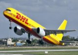 International de DHL exprès de Chine en Suisse